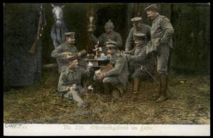 Germany Austria WWI Army Easter Sunday in the Feel Patriotic Gloria Viktor 66383