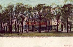 pre-1907 CAL BLUNT RESIDENCE, ROCK ISLAND ARSENAL, DAVENPORT, IOWA