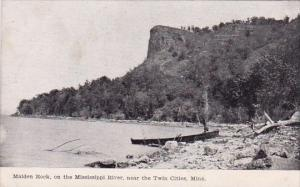 Minnesota Twin Cities Maiden Rock On The Mississippi River 1909