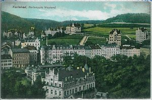 VINTAGE POSTCARD:  CZECH REPUBLIC - Karlovy Vary : Karlsbad : Carlsbad