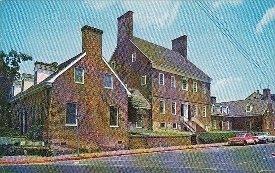 The Brice House Annapolis Maryland 1959