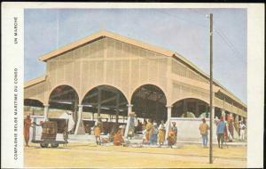congo, Native Market Place (1920s) Co. Belg. Maritime