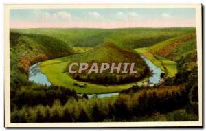 Old Postcard Bouillon Semois On The Tomb Of Giant