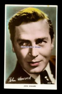 b6492 - Film Actor - John Howard - Art Photo No.166 - postcard