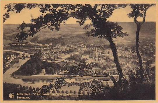 Panorama, Petite Suisse Luxembourgeoise, Luxembourg, 1900-1910s