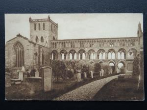 Scotland JEDBURGH ABBEY - Old Postcard by A.R. Edwards & Son of Selkirk