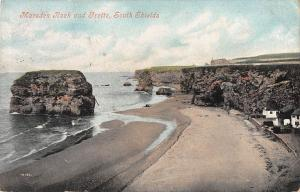 BR78716 moresden rock and grotto south shields    uk
