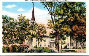 North Carolina Fayetteville First Presbyterian Church