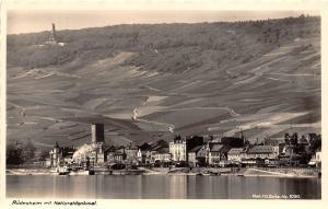 Ruedesheim mit Nationaldenkmal Am Schoenen Rhein Panorama