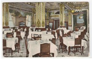 Main Dining Room Hotel De Soto New Orleans Louisiana 1915 postcard