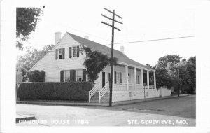 Guibourd House 1784 Ste.Genevieve Missouri 1963 Postcard 20--9923