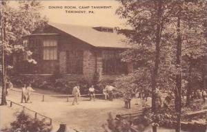 Pennsylvania Tamiment Dining Room Camp Tamiment Artvue