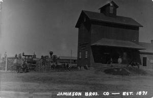 Morristown Minnesota~Jamieson Bros Barb Wire Co~Workers c1871~1950s REPRINT~RPPC