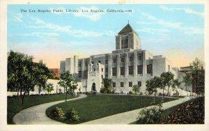 Los Angeles, California - The Los Angeles Public Library - c1920