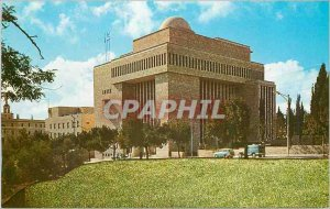 Postcard Modern Jerusalem Hechal Shlomo Building of the Chief Rabbinate