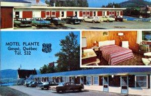 Gaspe QUE Canada -Motel Plante in the center of town 1960s