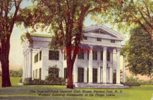 THE INGERSOLL-RAND IMPERIAL CLUB HOUSE, PAINTED POST, NY.