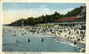 Bathing Scene, Euclid Beach Cleveland OH Unused
