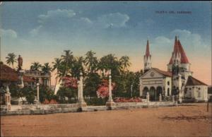 Cartagena Colombia Church Igelsia del Cabrero Used c1915 Postcard