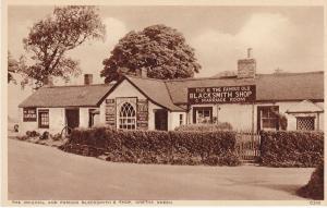 Post Card Scotland Dumfriesshire Gretna Green The Blacksmith's Shop