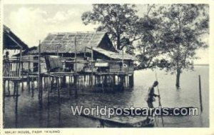 Malay House Pasir Panjang Malaysia Unused