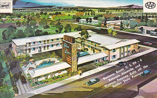 California Glendale Glen Capri Motel With Swimming Pool