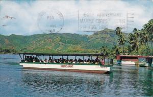 Hawaii Kauai Boat Trip Up The Wailua River 1967