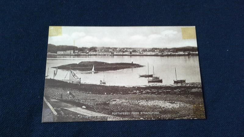 Black And White Postcard Portaferry From Strangford