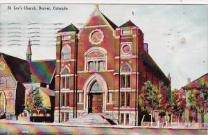 Saint Leos Church Denver Colorado 1910