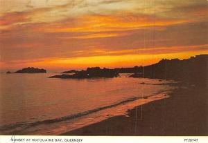 Guernsey, Sunset at Rocquaine Bay, Sunset