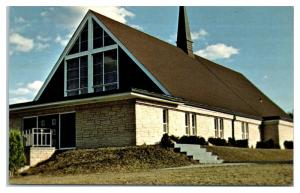 1960s St. Anthony's Menominee Indian Church, Neopit, WI Postcard