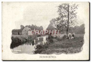Old Postcard The edges of & # 39Eure