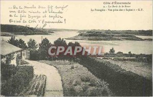 Old Postcard The Banks of the Rance The Emerald Coast Passagere View Taking firs