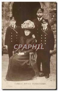 Old Postcard Royal Family of England Royal FAmily