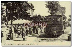 COPY Riva Bella L & # 39Arrivee d & # 39Un Tram Train
