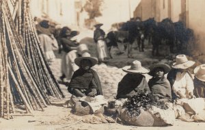 RP: Street Merchant , Mexico , 1910-30s