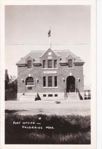 RP: Post Office , DELDRAINE , Manitoba , Canada , 20-40s