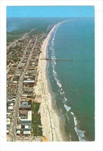 Aerial View Looking North Along Famous Ocean Boulevard, Myrtle Beach, South C...