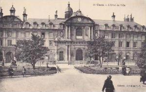 France Caen L'Hotel de Ville