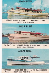 CLEARWATER BEACH, Florida , PU-1967 ; Deep Sea Fishing Boats