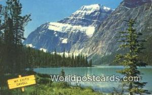 Canada Athabasca Valley, Jasper National Park Mount Edith Cavell