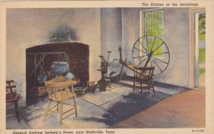 General Andrew Jackson´s Home, The Kitchen At The Hermitage, Nashville, Tenn...