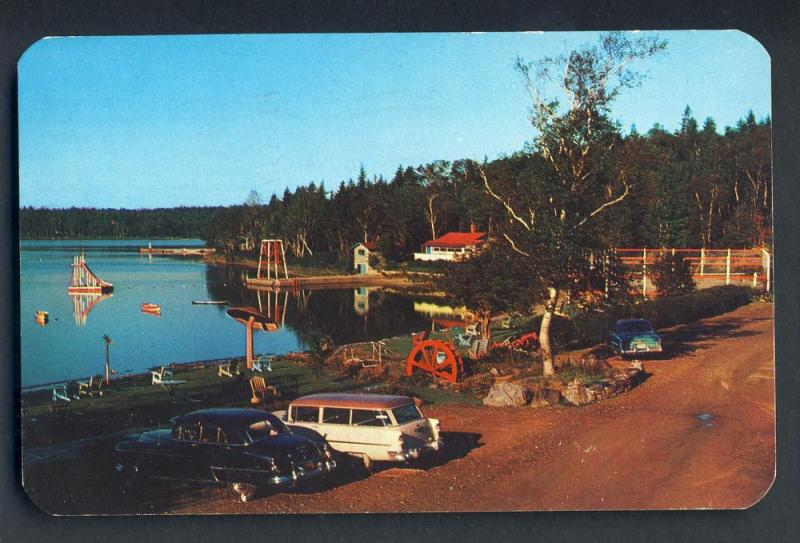 Yarmouth, Nova Scotia/NS, Canada Postcard, Braemar Lodge, 1959!