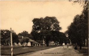 INDONESIA PC DUTCH INDIES - Hospitaalweg te Makassar - Celebes (a1584)