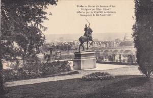 Blois, Statue de Jeanne d'Arc, Loir et Cher, France, 00-10s
