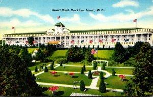 Michigan Mackinac Island The Grand Hotel