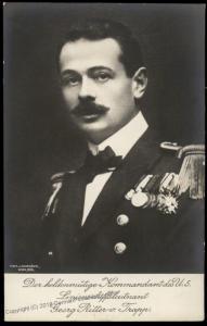 Austria WWI Capt Georg Ritter von Trapp Submarine Sound of Music UBoot RPP 81264