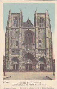 France Nantes Cathedrale Saint-Pierre Ensemble Ouest