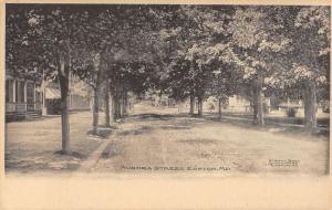 Easton Maryland Aurora Street Scene Residential Antique Postcard K98530
