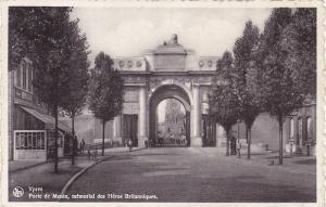 Porte De Menin, Memorial Des Heros Britanniques, Ypres (West Flanders), Belgi...